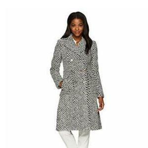 Ivanka Trump Wool Double Breasted Coat
